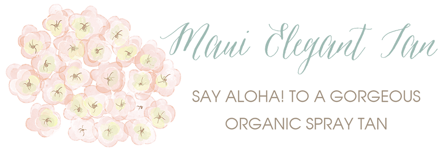 Maui Elegant Tan - Organic Spray Tan